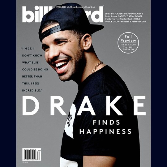 Drake Billboard magazine