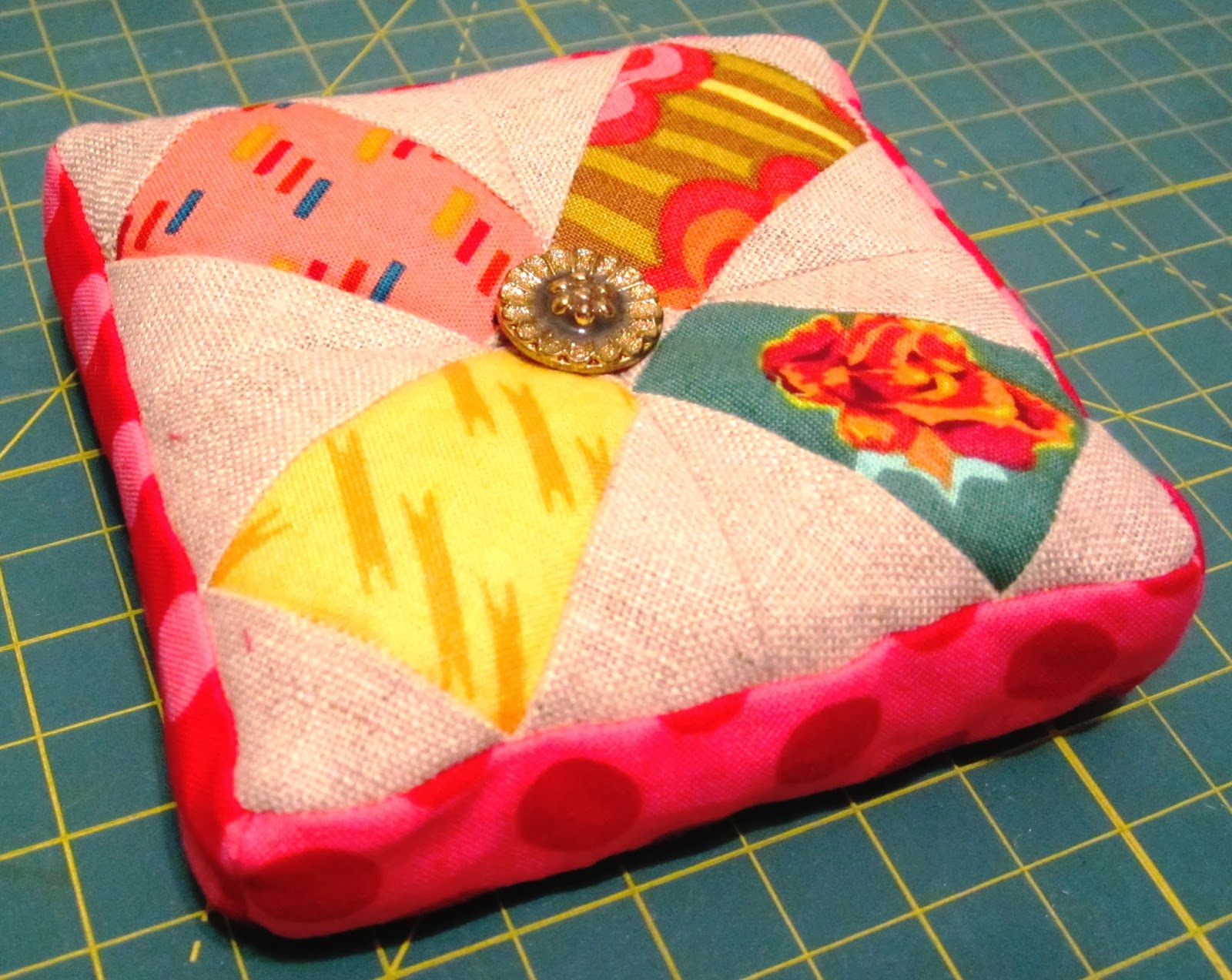 Patchwork, Please - Prettified Pincushion