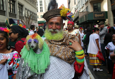 famoso personaje pintoresco colombiano en Nueva York