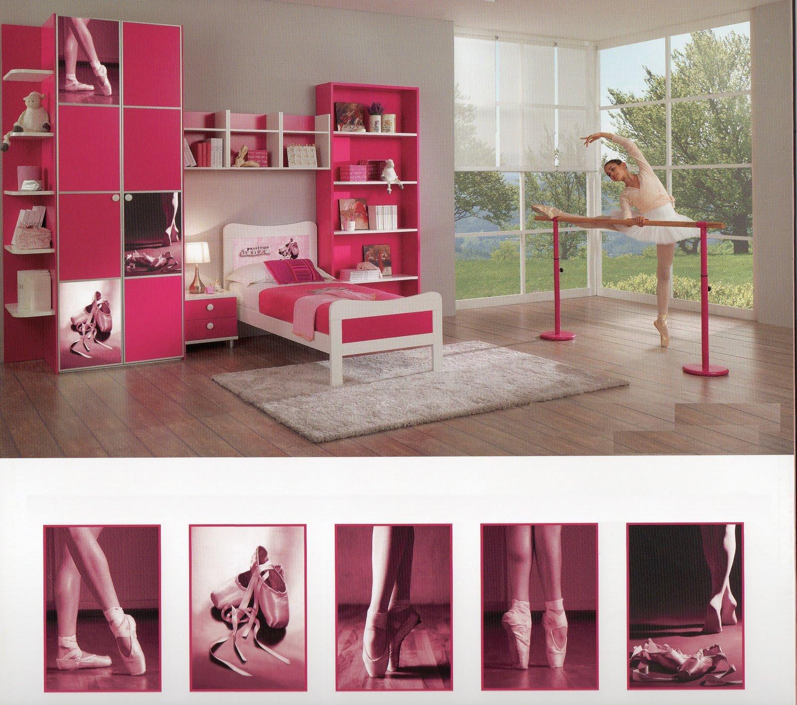Centro Camerette Barbato: Cameretta Danza, per le piccole ballerine ...