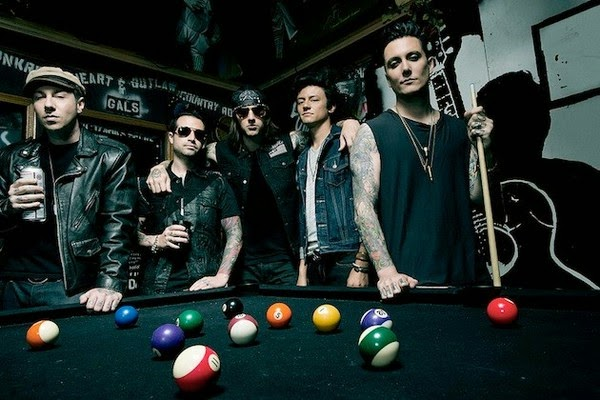 avanged sevenfold - band