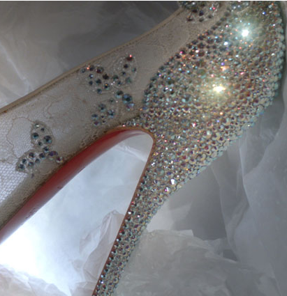 Louboutins Cindrella slippers