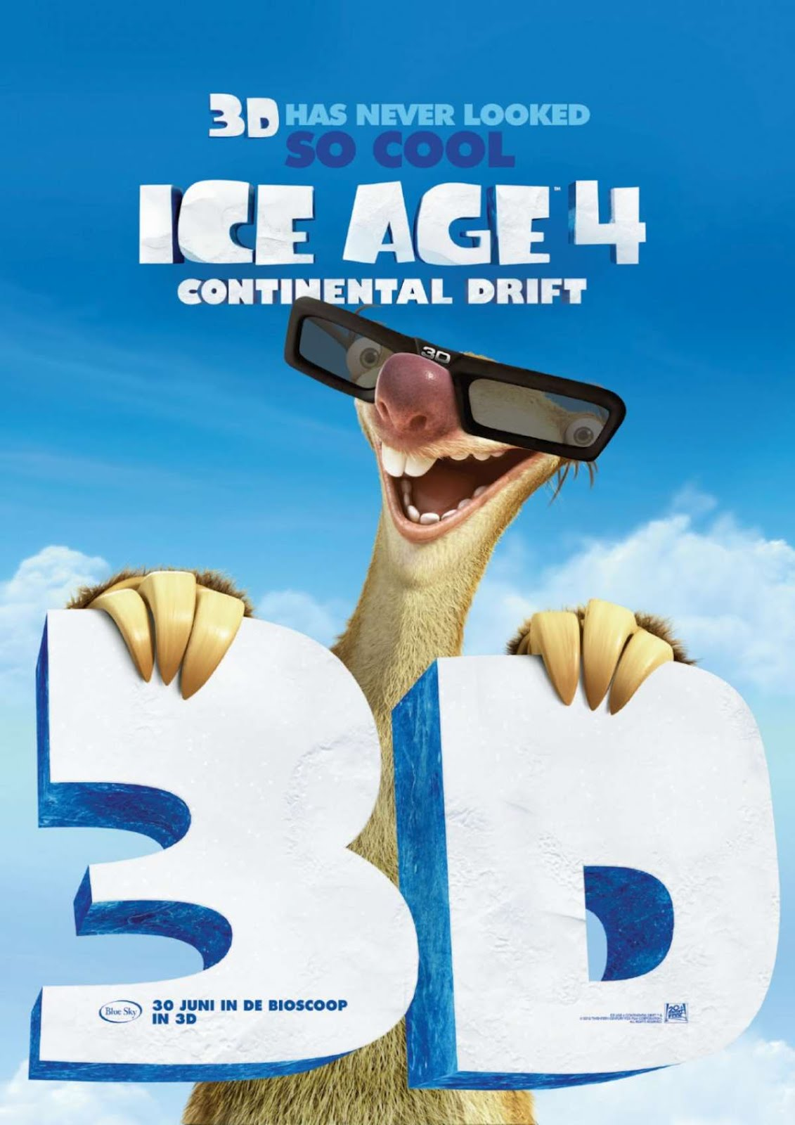 free download ice age: continental drift powerpoint backgrounds