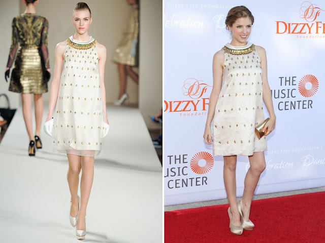 Anna Kendrick in TemperleyLondon (Fall 2013) - 3rd Annual Dizzy Fett Foundation's Celebration of Dance Gala
