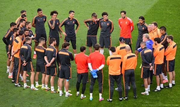 بالصور تدريبات ريال مدريد استعدادا للنهائي ضد اتلتيكو مدريد