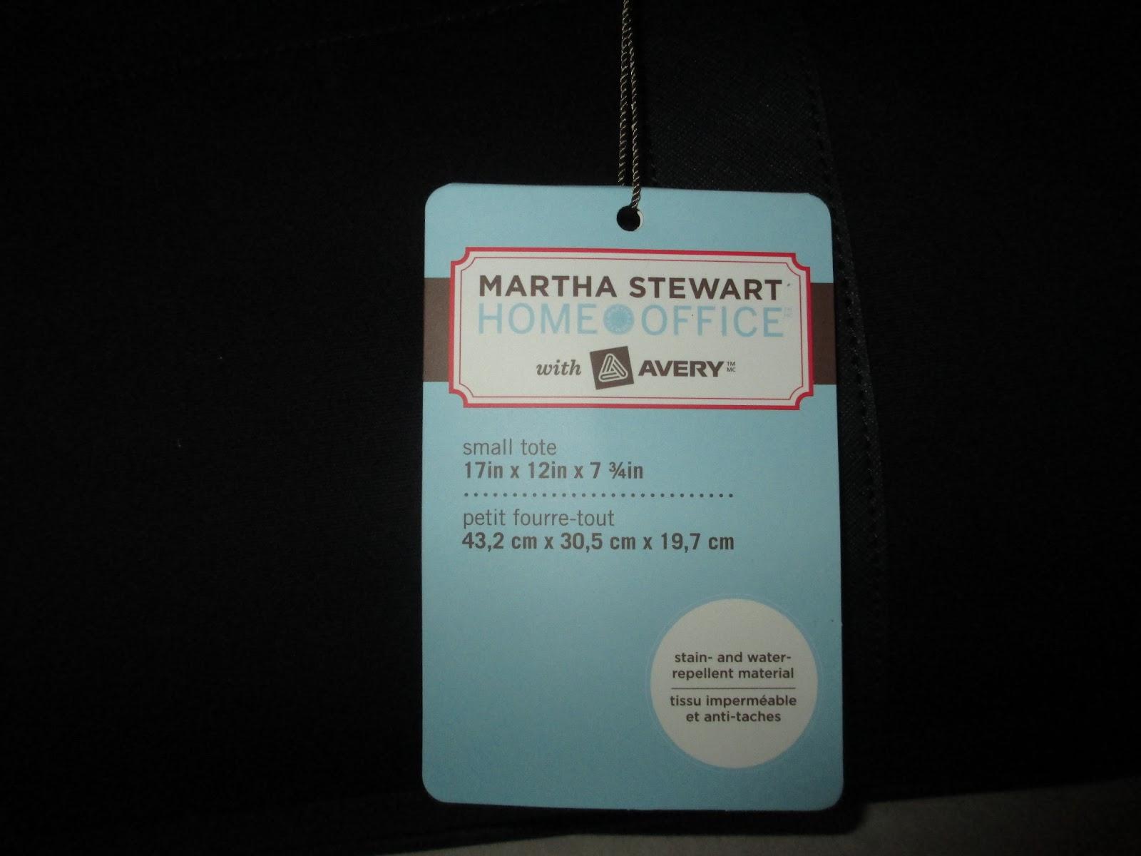 Staples martha stewart tote coupon