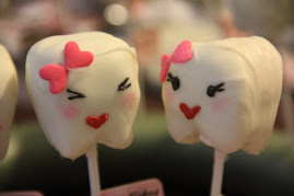Cute Blushing Tooth Cake Pops