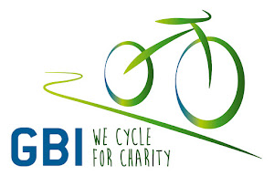European cycling for charity