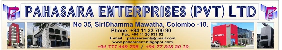Pahasara Enterprises (pvt.) Ltd