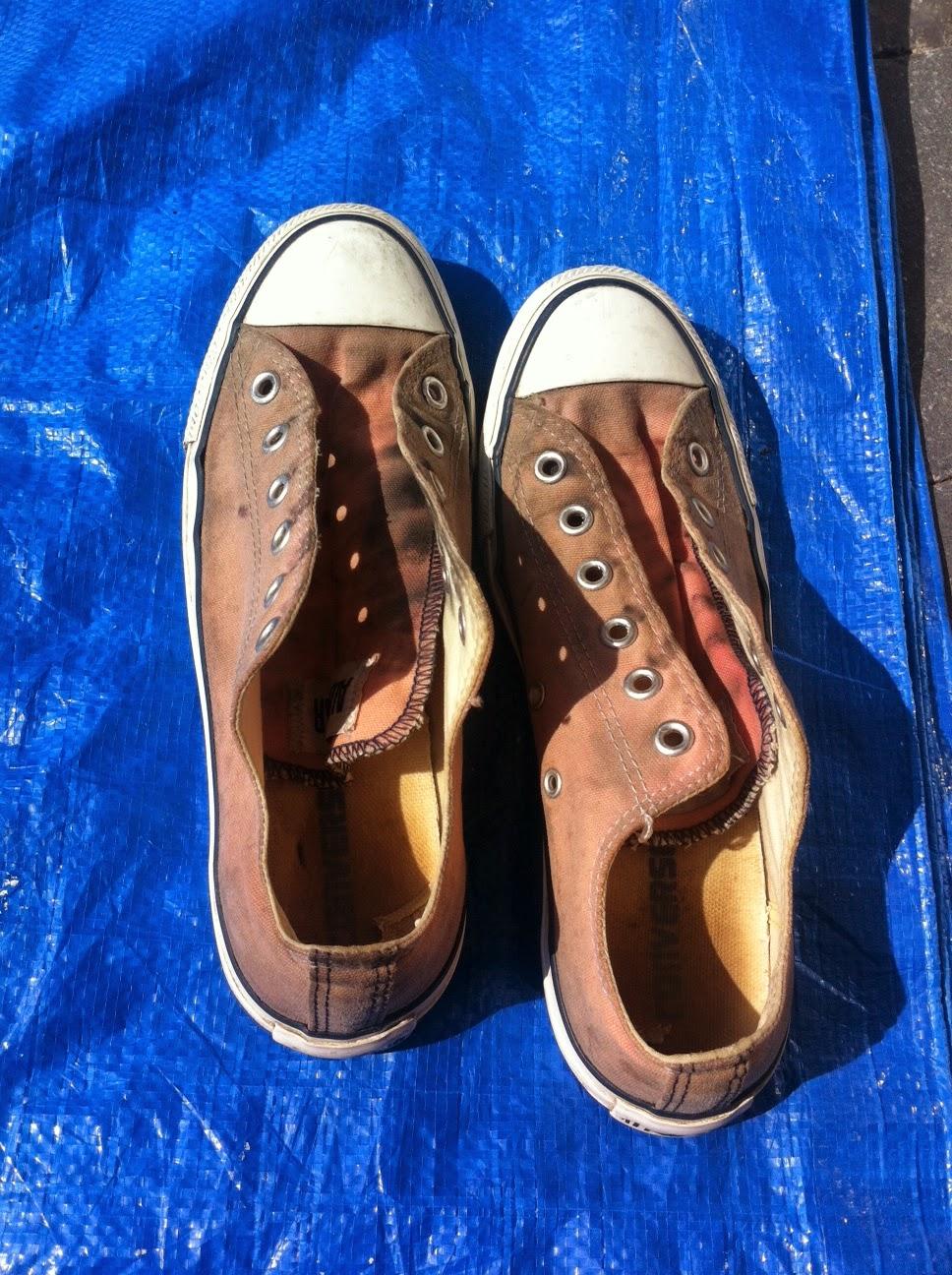 converse schoenen verven