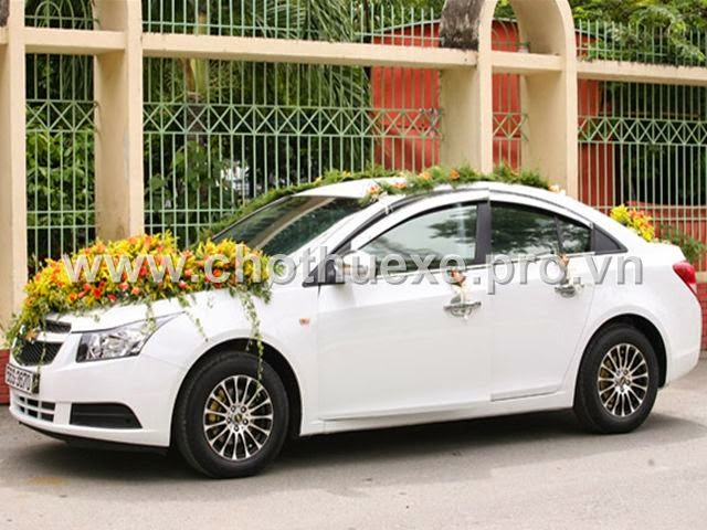 Cho thuê xe cưới Chevrolet Cruze