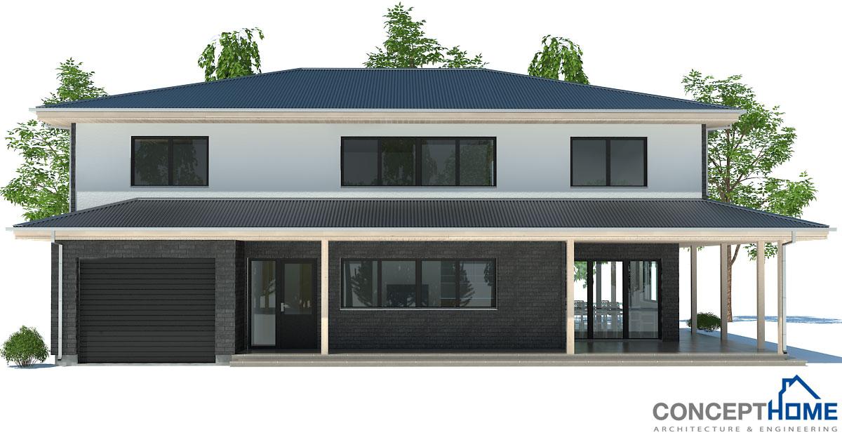 Contemporary house plans contemporary house design ch179 for Modern house design 2013