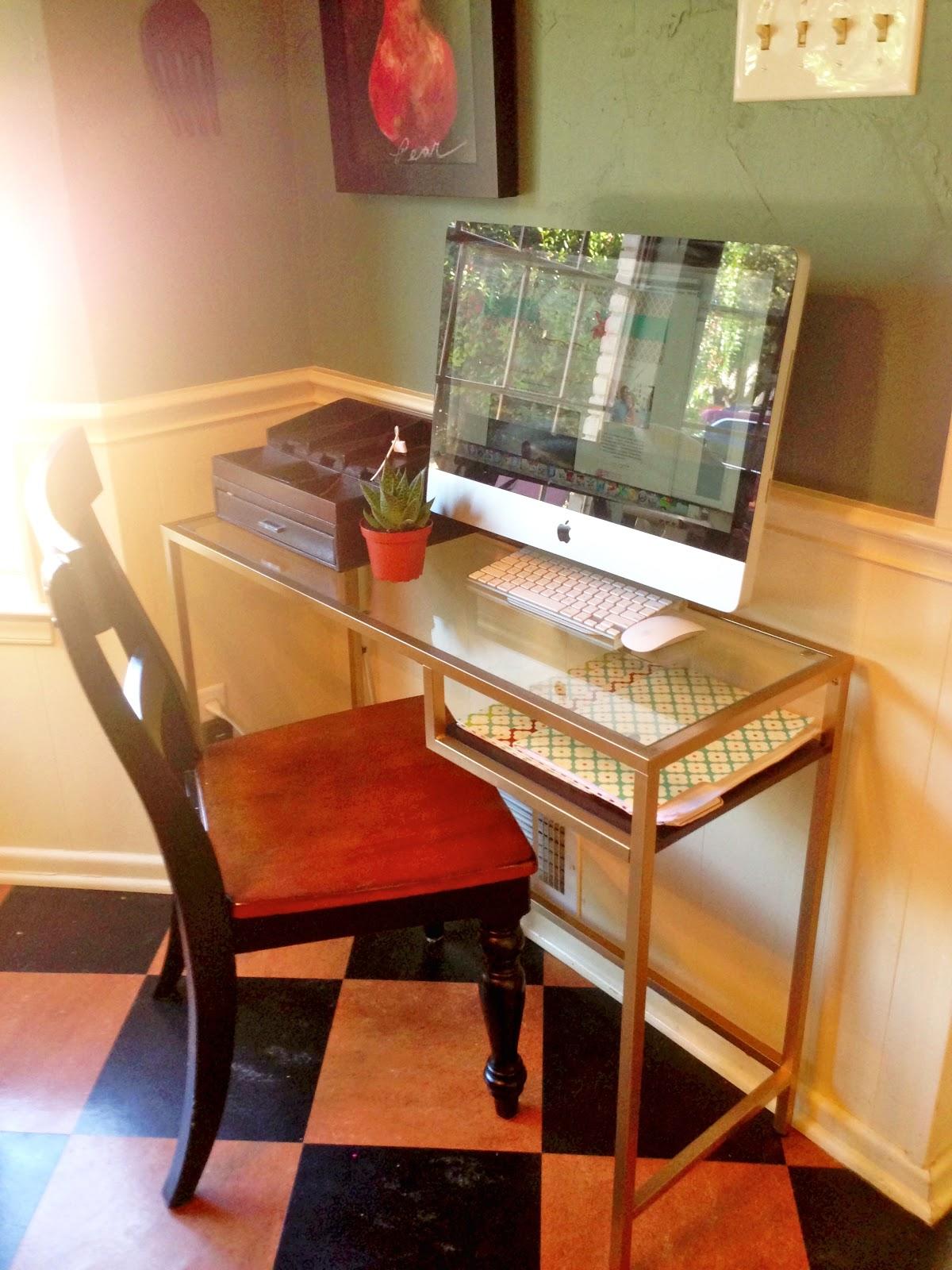 Hope Longing Life Kitchen Work Station Vittsjo Desk Hack