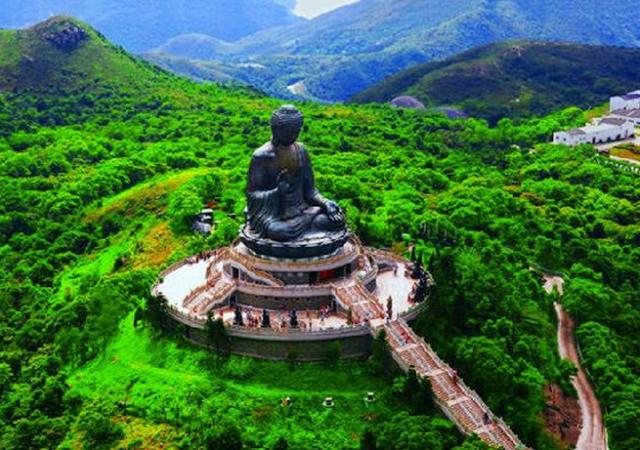 Tian Tan Budha , Pulau lantau - Hong Kong