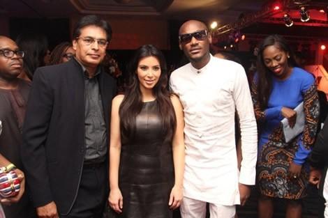 Lagos concert kim kardashian