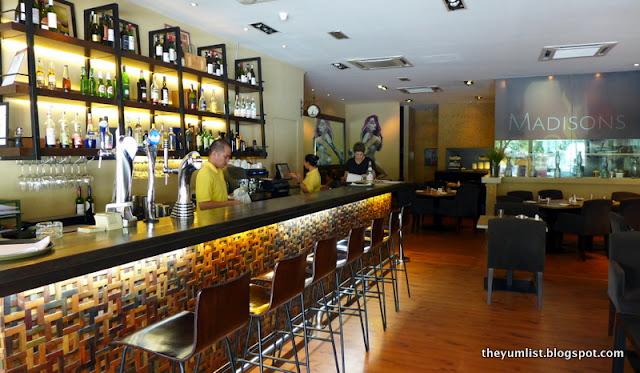 Madisons, Modern Australian Cuisine, Bangsar, Kuala Lumpur