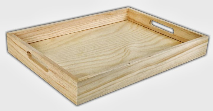 Crafts Direct Blog: Project Ideas: Wood Trays.