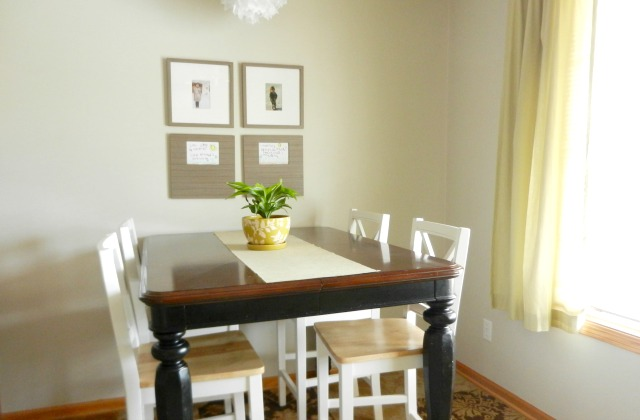 simple dining room and kitchen tour - Simple Dining Room