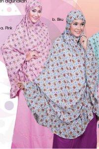 Mukena Dewasa Tatuis Tiara 087 - Biru (Toko Jilbab dan Busana Muslimah Terbaru)