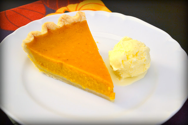 Light Maple Pumpkin Pie Recipe