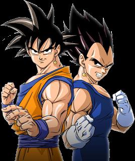 Anime Renders Goku E Vegeta Render