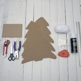 tutorial decorar arbol navidad cartón self packaging