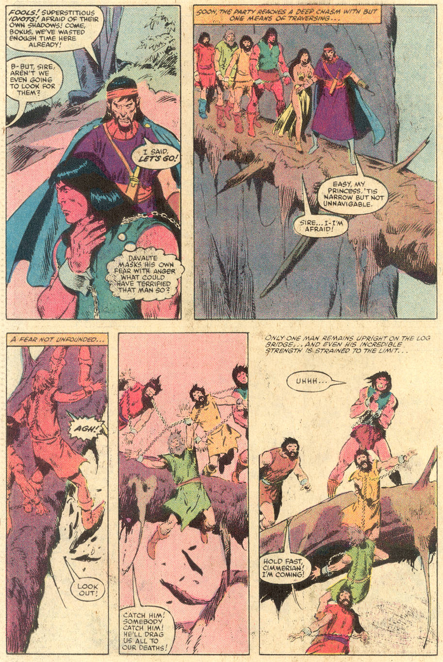 Conan the Barbarian (1970) Issue #140 #152 - English 19