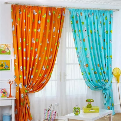 Top 15 childrens bedroom curtains designs, ideas, colors 2014 ...