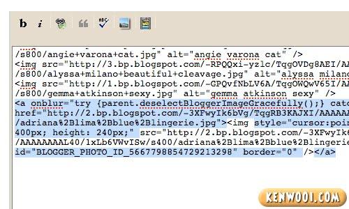 remove image codes