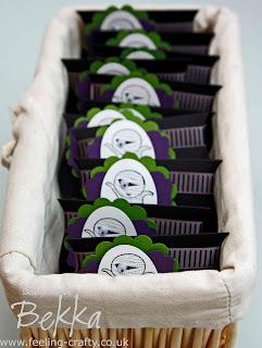 Happy Halloween Mummy Treats by Stampin' Up! Demonstrator Bekka www.feeling-crafty.co.uk - lots of great project ideas
