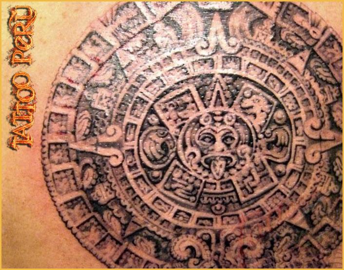 Tatuajes: Historia de los Tatuajes. 01_dibujos_aztecas
