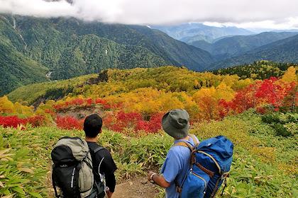 Hiking Japan December
