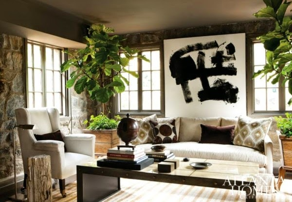 living room,  neutral scheme, pattern, texture, contrast