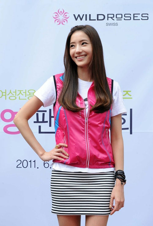 Han Chae Young at Wild Roses