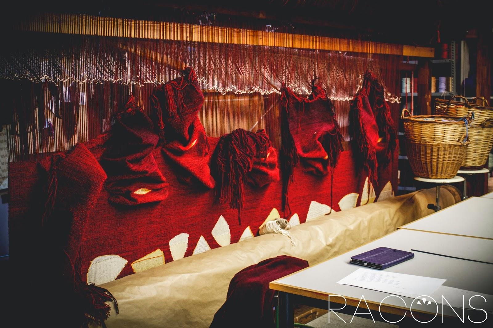 detall taller de tapís centre cultural la mercè