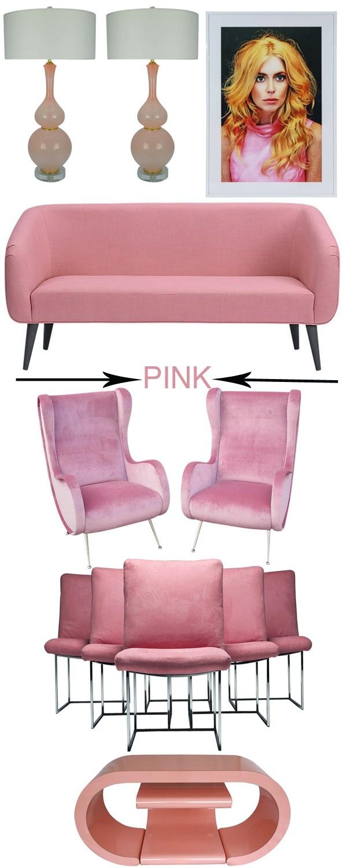 Pink Interior Design Inspiration Mimosa Lane