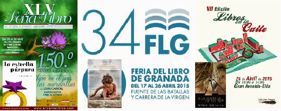 El Blog de María Serralba - #FeriasLibro2015