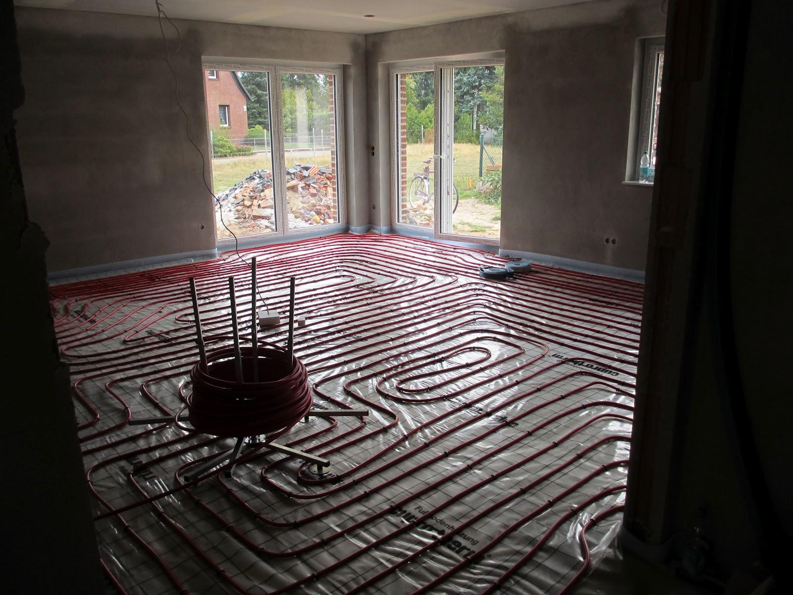 Fußboden Dämmen Folie ~ Fußbodenheizung sorgfältig verlegt die alten bauen ihren ruhesitz