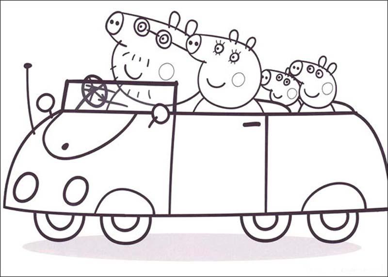Раскраски для девочек свинка пеппа играть - 6