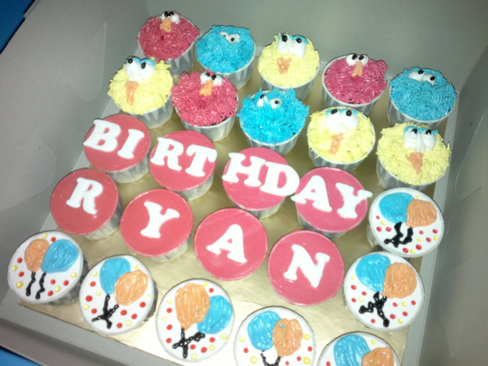 Cuppy Wonderland Happy Birthday Ryan 50 Pcs Choc Moist