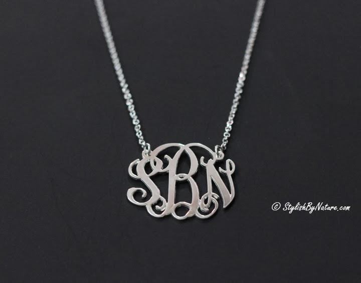 stylish name necklace online