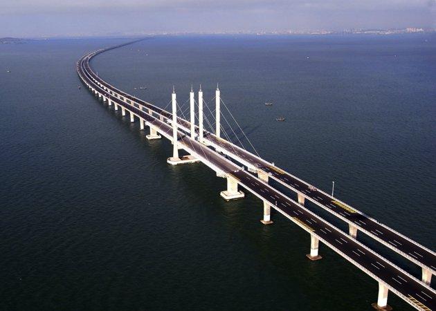 Le plus long pont maritime du monde
