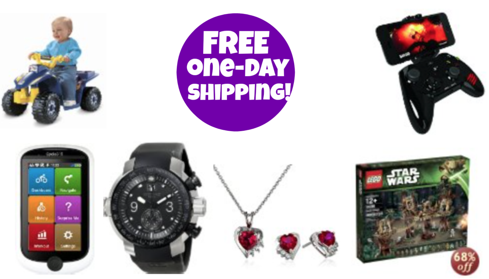 http://www.thebinderladies.com/2014/12/amazon-free-one-day-shipping-no-prime.html#.VJSvuAAIA