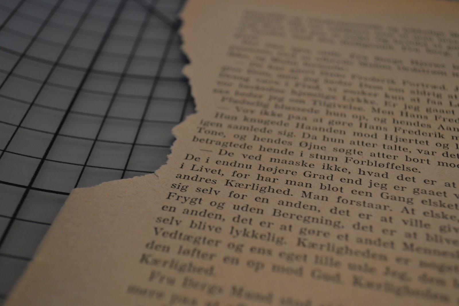 gammel bogmærke sølv