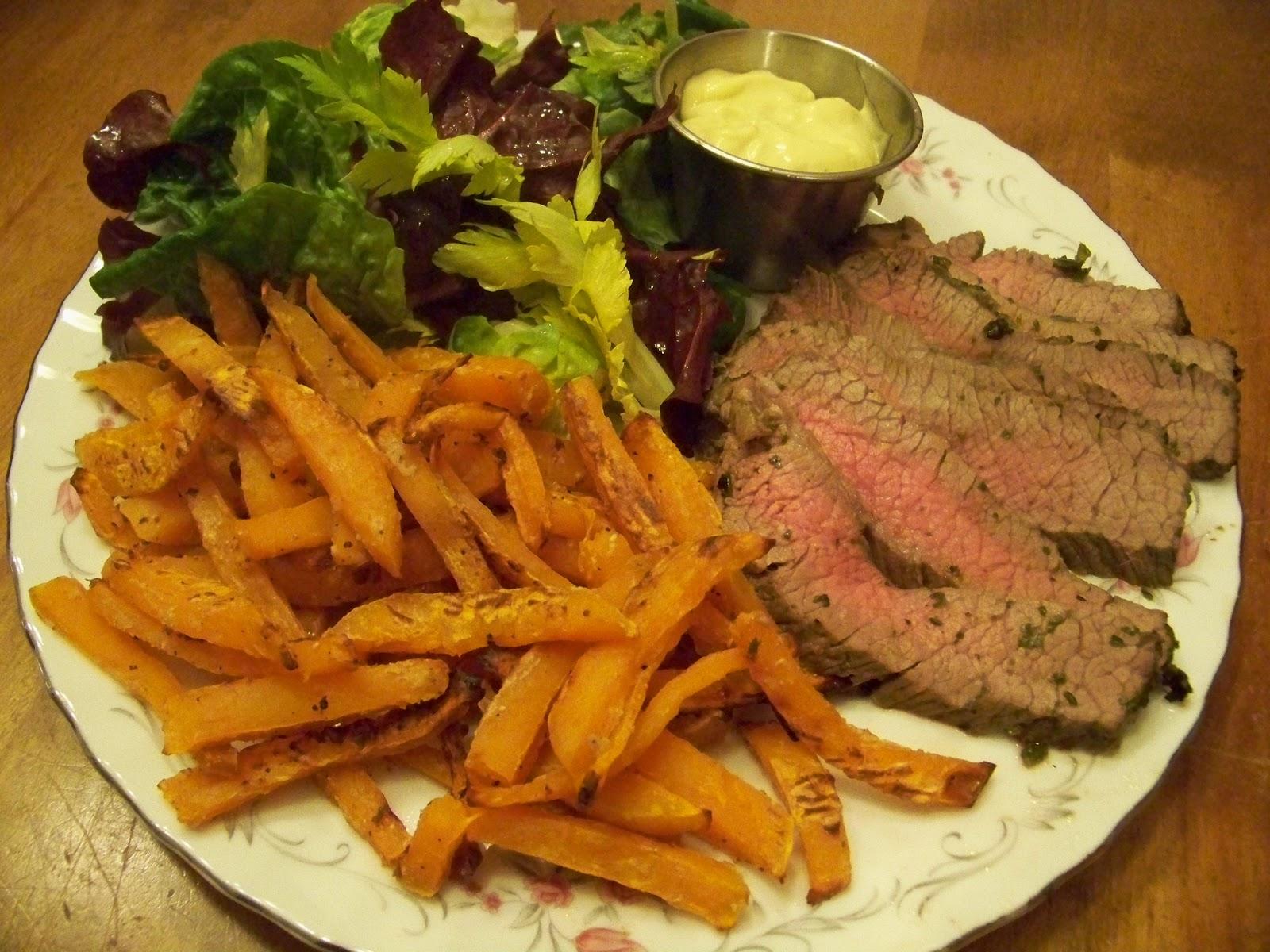 La cuill riste frites de patates douces au four - Frites pour friteuse au four ...
