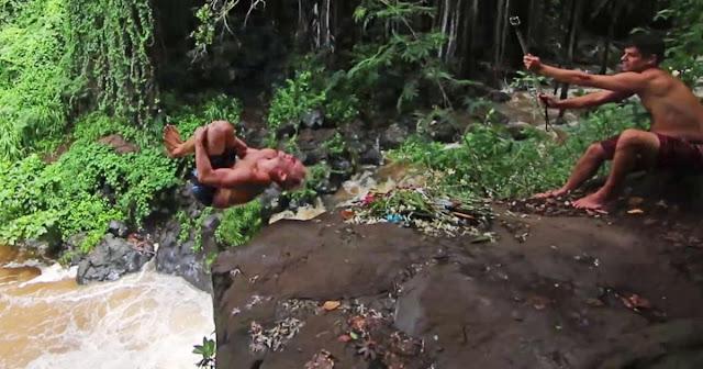 Shane Brown Patah 14 Tulang Rusuk di Air Terjun