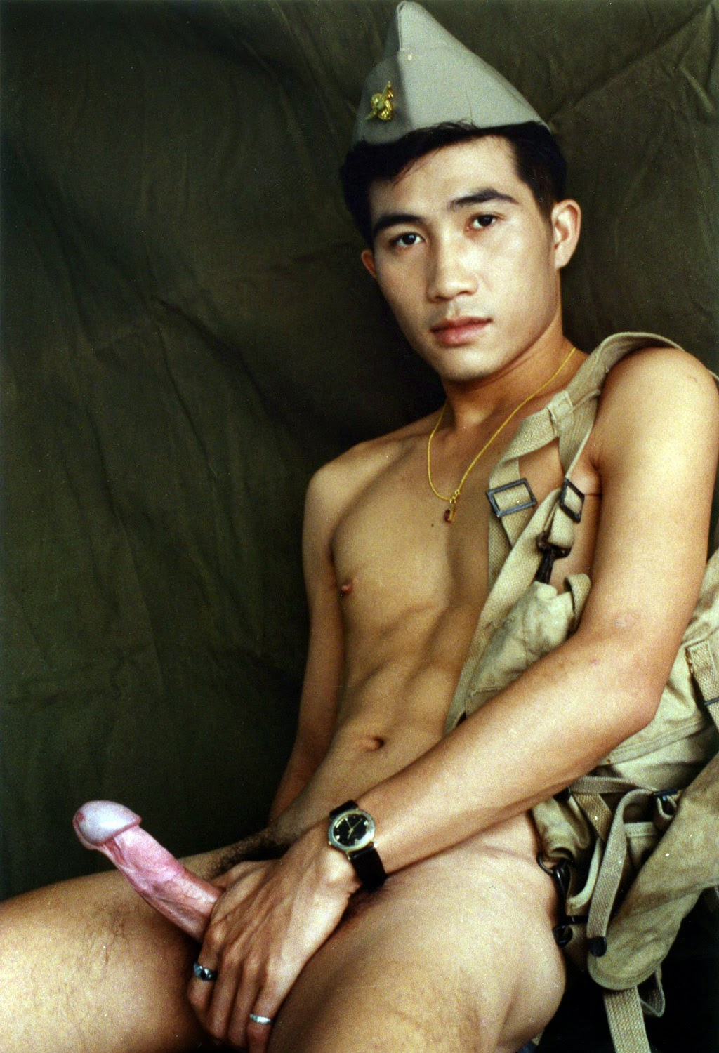 asian old male naked