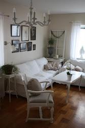 Vardagsrummet i gamla huset