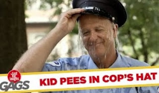 Funny Video – Boy PEES On Cop Prank