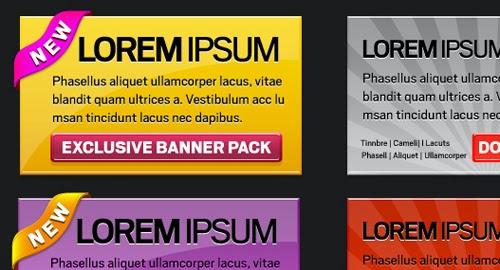 Web Banner Pack